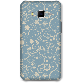Samsung Galaxy S4 Designer Hard-Plastic Phone Cover From Print Opera - Grey Floral