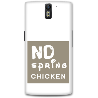 One Plus One Designer Hard-Plastic Phone Cover From Print Opera -Typography