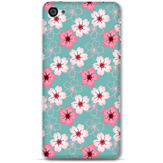 IPhone 4-4s Designer Hard-Plastic Phone Cover From Print Opera - Pink And White Floral