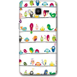 Samsung Galaxy On5 Designer Hard-Plastic Phone Cover From Print Opera -Beautiful Birds