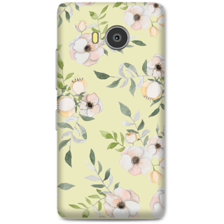 Lenovo A7700 Designer Hard-Plastic Phone Cover From Print Opera - Floral