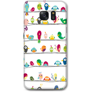 Samsung Galaxy S7 Designer Hard-Plastic Phone Cover From Print Opera -Beautiful Birds
