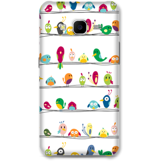 Samsung Galaxy J7 2015 Designer Hard-Plastic Phone Cover From Print Opera -Beautiful Birds