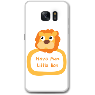 Samsung Galaxy S7 Designer Hard-Plastic Phone Cover From Print Opera -Have Fun Little Lion