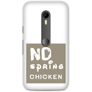 Moto G3 Designer Hard-Plastic Phone Cover From Print Opera -Typography