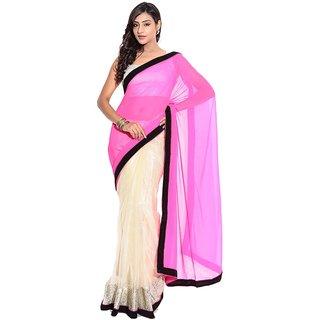 New Designer Multicoloured Chiffon Saree