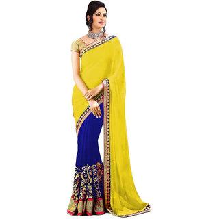 Stylezone Multicoloured Georgette Saree