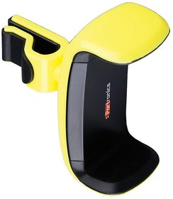Portronics POR-724 Clamp Universal Car Mobile Holder for Smart phones with 360 Multi angle adjustable