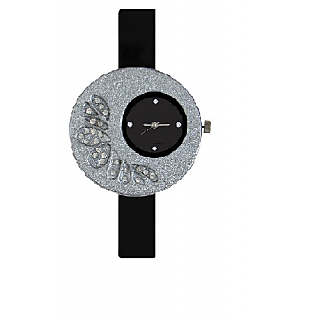 TRUE CHOICE NEW Super Fast Selling Black More Analog Watch For Girls 6 month warranty