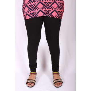 Ablack Chudidar Leggings With Miyani And Nada