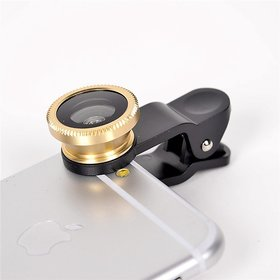 Shutterbugs 3-In-1 Camera Lens Kit for All Smartphones