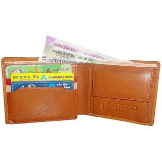 Atorakushon Mens Gents Pure Leather Wallet Purse Money Bag Credit Card Holder Business Cardholder 6