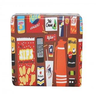 6th Dimensions Multipurpose Tin Storage Boxes Medium Size