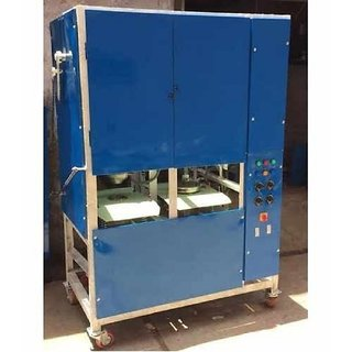 Double Die Paper Plate Making Machine