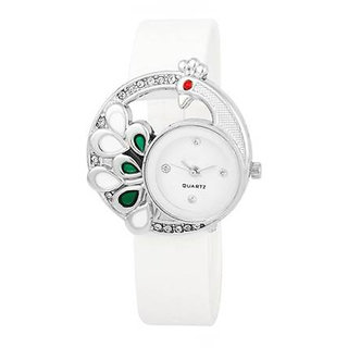 Woman Collection Analogue Watch For Woman-WhiteMore