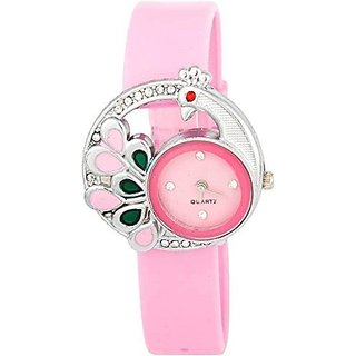 Woman Collection Analogue Watch For Woman-PinkMore