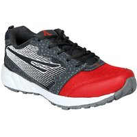 Ariction Men Sports Shoe In Red And Grey Color