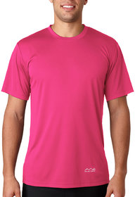 Scott International Men'S Pink Dryfit Polyester T-Shirt