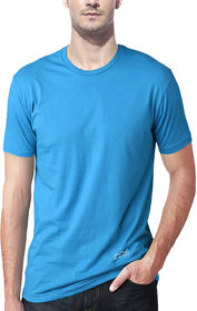 Scott International Men'S Sky Blue Dryfit Polyester T-Shirt