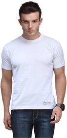 Scott International Men'S White Dryfit Polyester T-Shirt