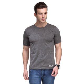 Scott International Men'S Dark Grey Dryfit Polyester T-Shirt