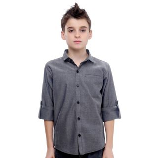 MashUp Superior Cotton Dobby Shirt For Boys.