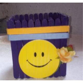 handmade pen stand