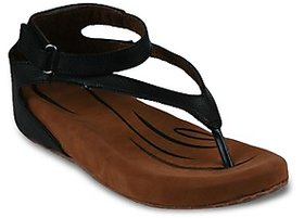Studio 9 Womens Black Sandals