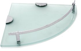 Corner Glass Shelf (12x12 Inch)