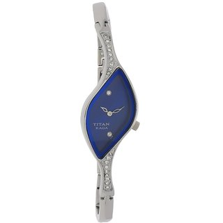 Titan Quartz Blue Other Women Watch 9710SM01