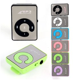 glossy glass Design mp3 player with Earphone and USB Cable by INSTADEAL