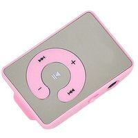 MP3 Player glossy glass Design with Earphone and USB Cable by INSTADEAL
