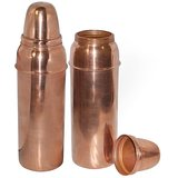 Clickmart Pure Copper Water Bottles 800 ML for Ayurvedic Health Benefits