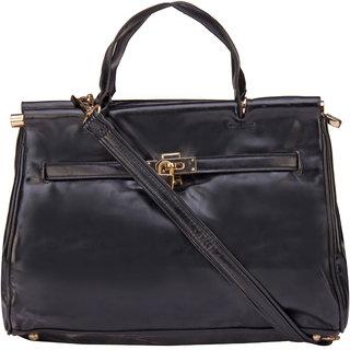 270ebf74df18 ILU Black Tote Bag Shoulder Bag Hand Held Bag Sling Bag Hobos Crossbody Bag  Handbags for Women Girls Ladies