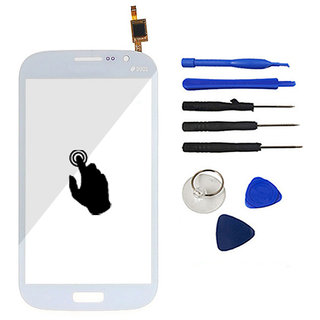 White Color With Tools Touch Screen Panel Digitizer Front Glass Replacement For Samsung Galaxy Grand Duos I9082