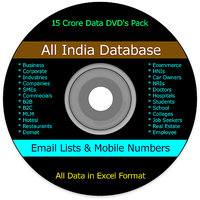 All India Email Database  Pan India Mobile Database