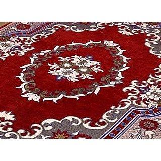 Peponi bring Home Premium Living Room Valvet touch Carpet rug -(7 X 5 , Multicolor)