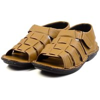 Anson Mens's Tan Synthetic Sandals-6