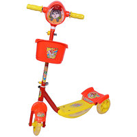 Ehomekart Red Noddy Scooter With Lights And Music For K