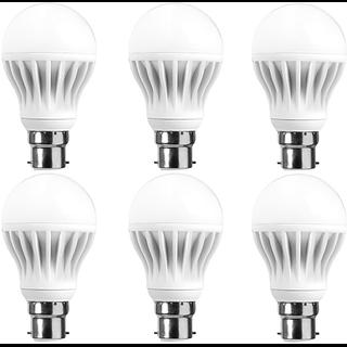 LNVO 5 watt LED Bulbs Pack of 6 , Cool Day Light