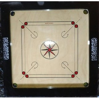 Classic 32 inch Carrom Board   White, Brown, Black  available at ShopClues for Rs.5999