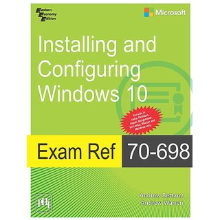 Exam Ref 70-698Installing and Configuring Windows 10
