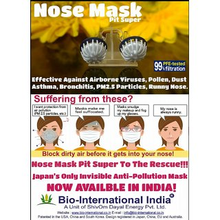 G7005 NOSE MASK- PIT SUPER Invisible Anti-Pollution Mask