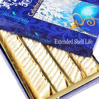 Mothers Day Sweets-Ghasitarams Pure Kaju Katlis Box 200