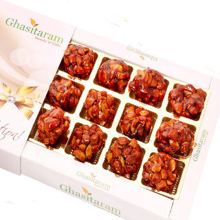 Mothers Day Sweets-Caramalised Almond Delight 12 pcs