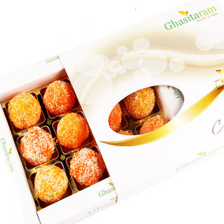 Mothers Day Sweets-Coconut Laddoos in White Box 12 pcs
