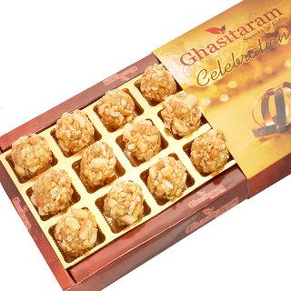 Mothers Day Sweets-Butterscotch Roasted Kaju Delight 18 pcs