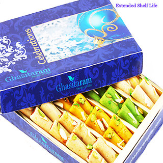 Mothers Day Sweets-Ghasitarams Assorted Rolls Box 200 gms