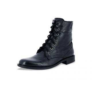 Alberto Torresi Mens Black Boot