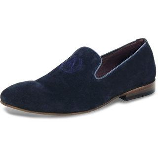 Alberto Torresi  Men's Navy Blue Casual Shoes